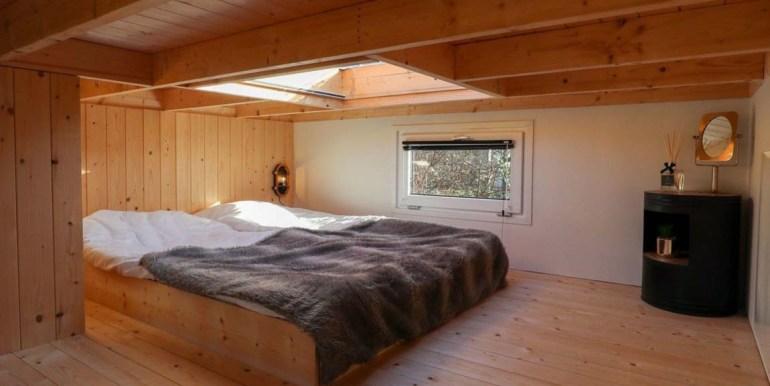 Vakantie in een Tiny House Droompark Buitenhuizen Amsterdam Noord Holland 1