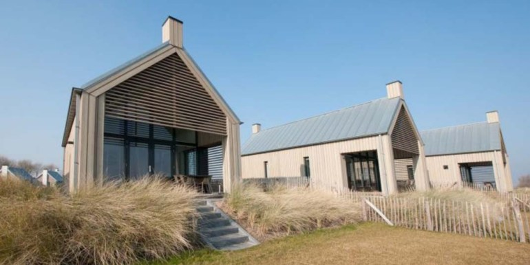 Waterrijk Oesterdam 4-persoons strandhuis Zeeland Tholen. -