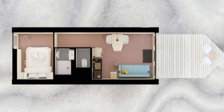 Tiny House aan het Grevelingenmeer Quiros Strandhuis Zeeland 1