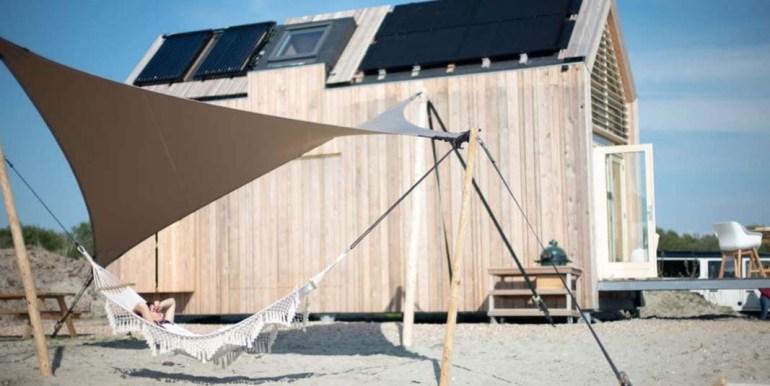 Tiny House aan het Grevelingenmeer Quiros Strandhuis Zeeland 8