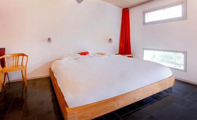 Vrijstaande watervilla in Friesland aan het water met sauna 14