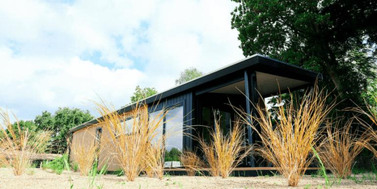4-persoons vakantiehuis op de Veluwe Lodge IJsvogel Voorthuizen 01