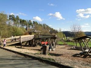 Speelplaats bij het Wildpark Edersee