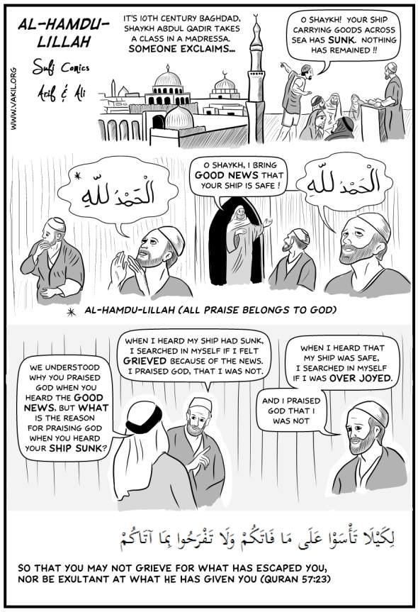 Sufi Comics: Al-hamdu-lillah
