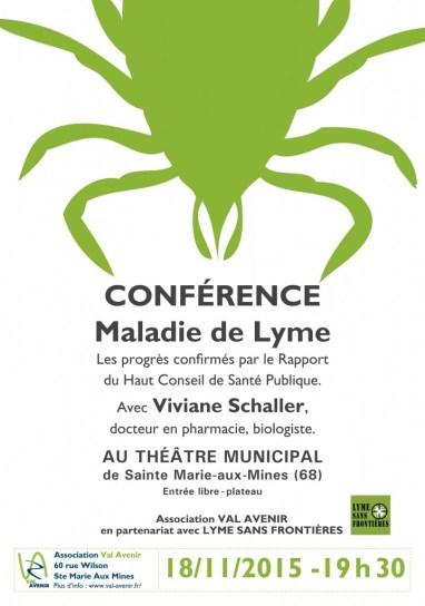 affiche tique conference VA