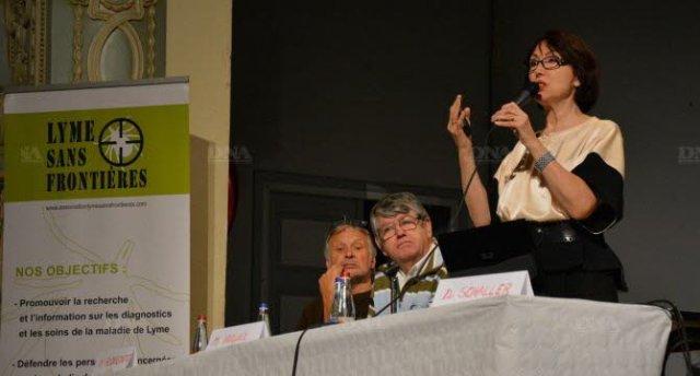 De gauche à droite : Alain Florentz, Jean-Paul Huguel et Viviane Schaller. PHOTO DNA - A.M.