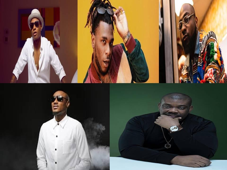 Top 5 Richest Nigerian Music Artistes And their Net Worths
