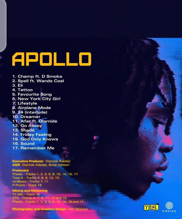 Fireboy DML – Apollo Album