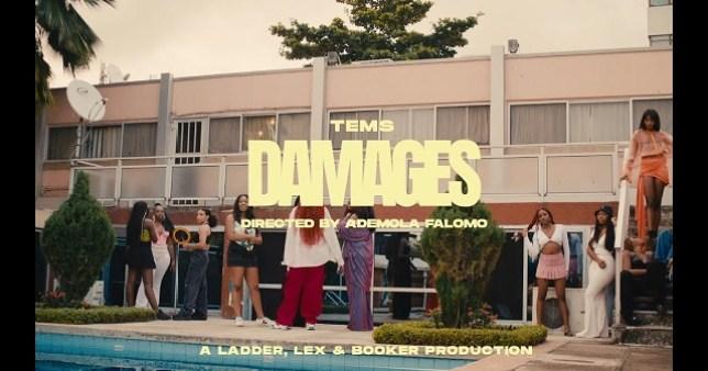 Tems – Damages ( Video )