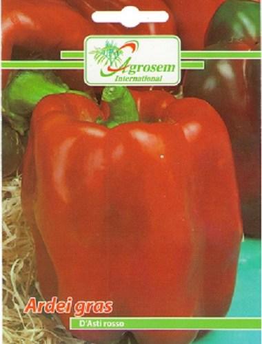 Seminte legume - Ardei gras D'Asti Rosso
