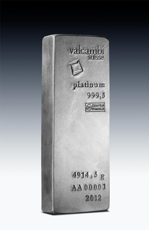 Good Delivery Platinum Ingot