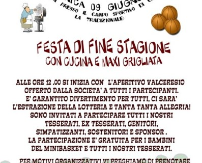 Festa di Fine Stagione 2012/2013