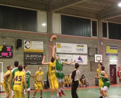 3° GIORNATA : Pol Daverio-U19 BAJ 65-44