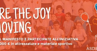 "Concorso Kinder ""Joy of moving"" (share)"