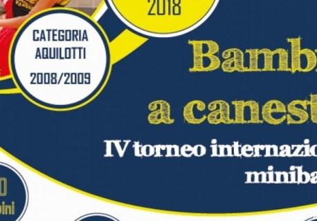 AQUILOTTI 2008 AL TORNEO INTERNAZIONALE BAMBINI A CANESTRO