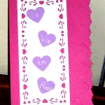 carte coeur la vie en rose