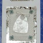 carte de félicitations naissance bavoir