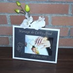 gravure sur verre mariage-cadre mariage
