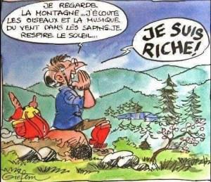 La richesse?