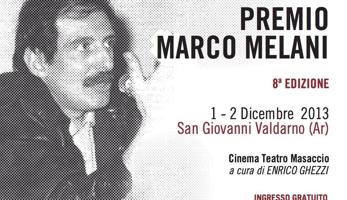 Premio MARCO MELANI 2013