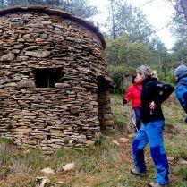 Sendero de Iturrixikin, borda de pastor en piedra seca