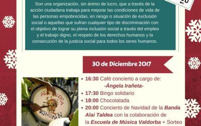 La Banda Alai Taldea y la Escuela de Música Valdorba te invitan a una tarde solidaria con París 365