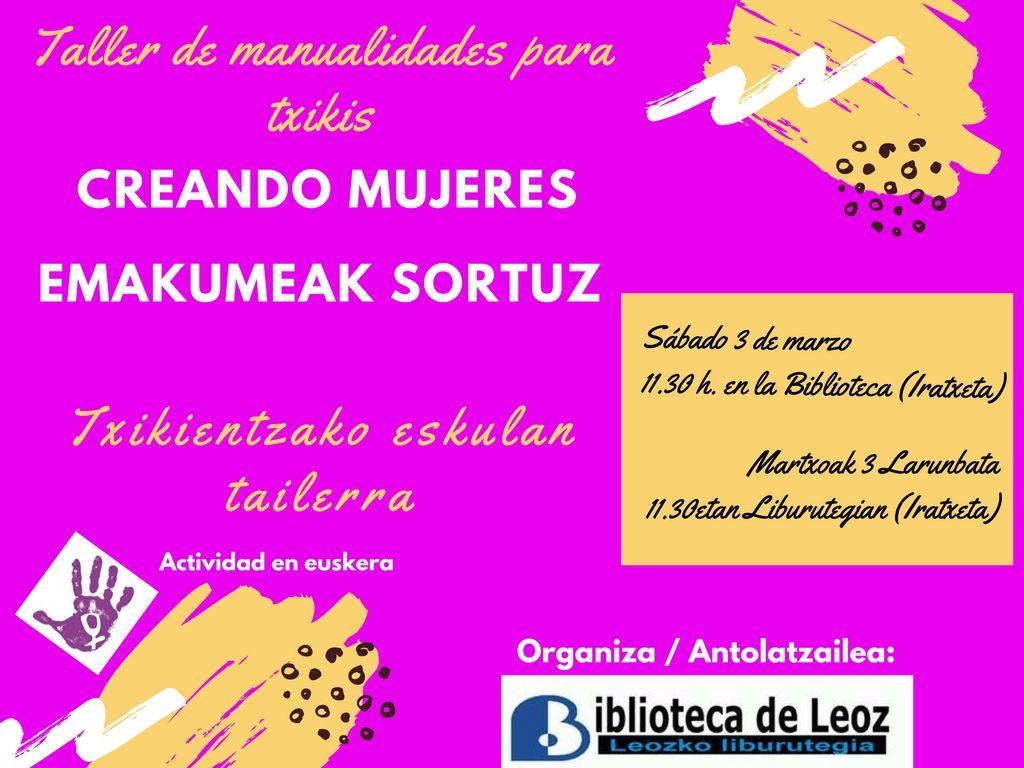 La Biblioteca De Leoz Conmemora El Dia Internacional De La Mujer 8