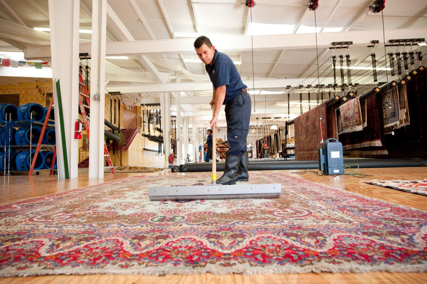rug cleaning in Cardiff