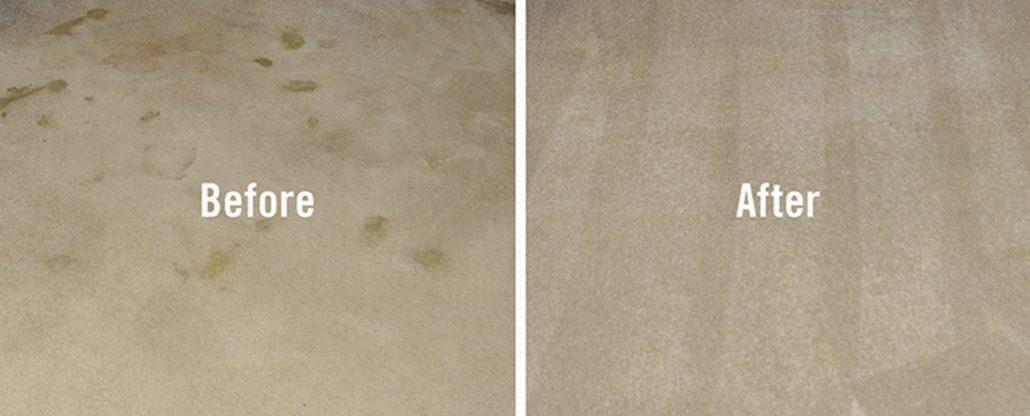 carpet cleaning Cardiff before and after