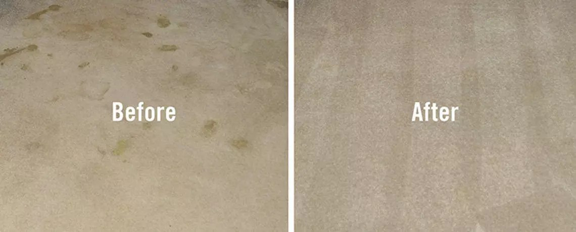 carpet cleaning in bridgend before and after