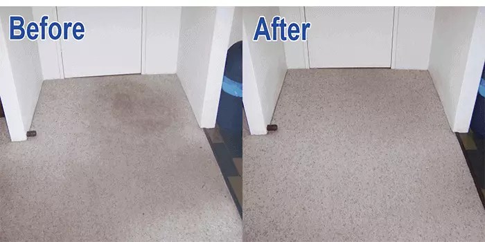 carpet cleaner in penarth before and after