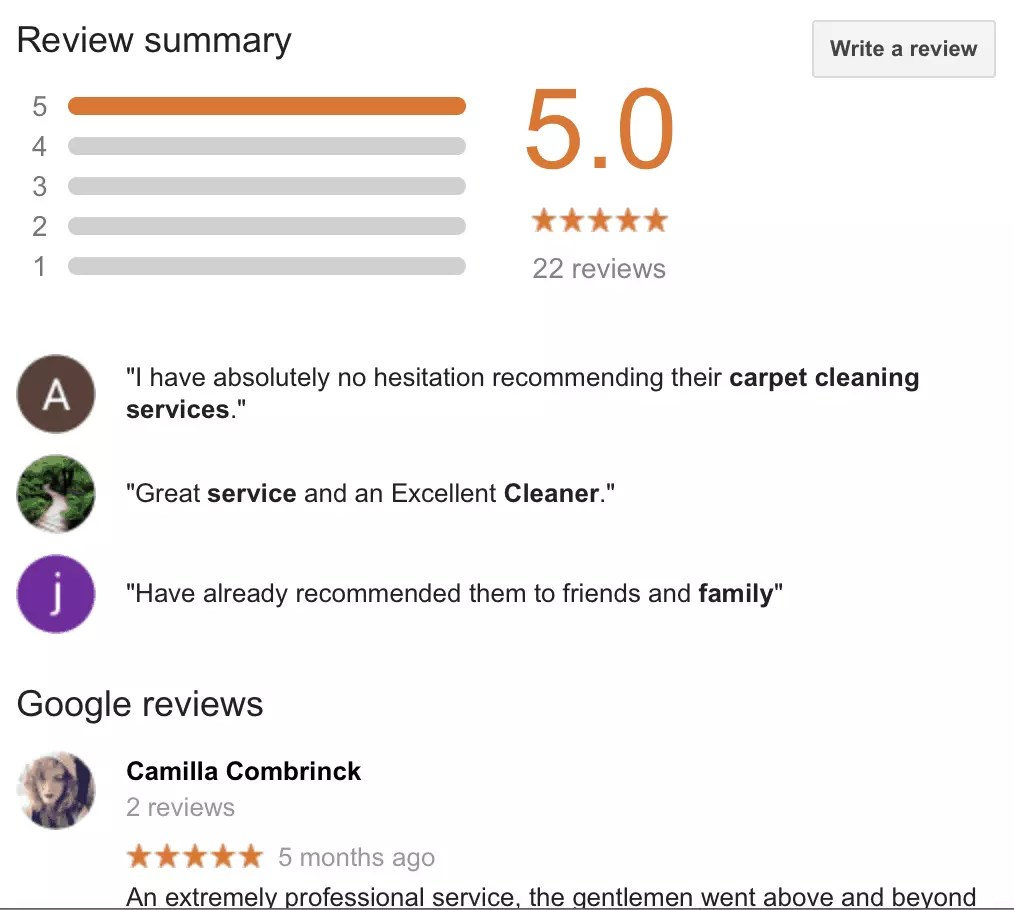 vale carpet cleaning reviews of our carpet cleaners