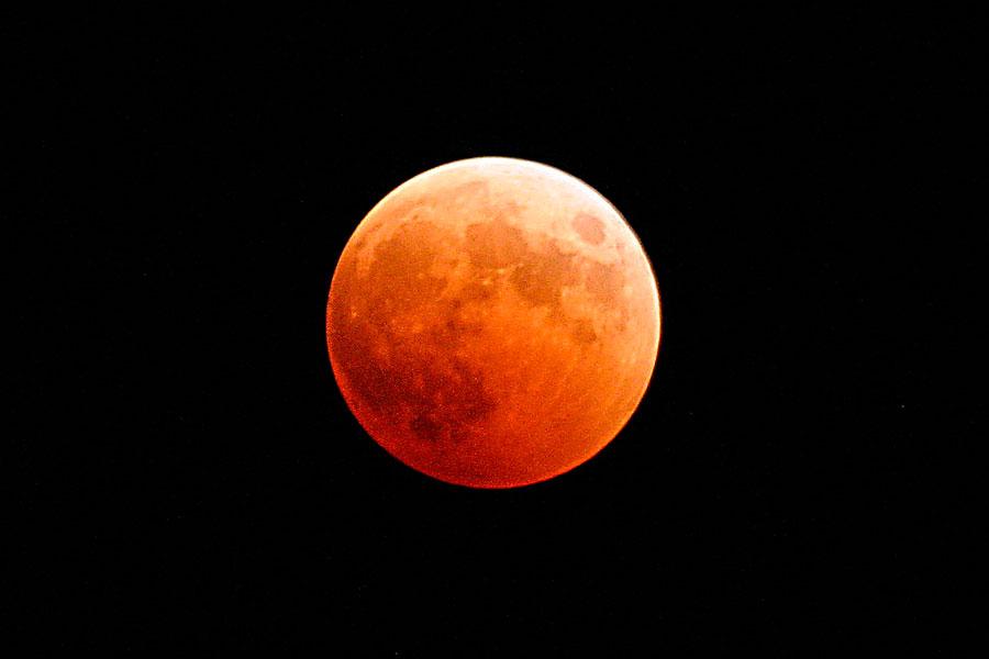 Eclipse lunar y superluna este fin de semana