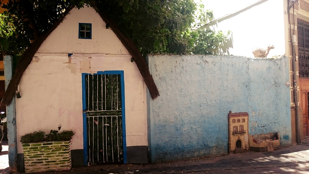 La Gatera o Casa de los gatos del barrio del Carmen