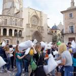 Llega la 9ª Guerra de Almohadas más grande de España a Valencia el 2 de abril de 2016