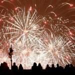 Espectáculos pirotécnicos por el Nou d'Octubre, el Día de la Comunidad Valenciana