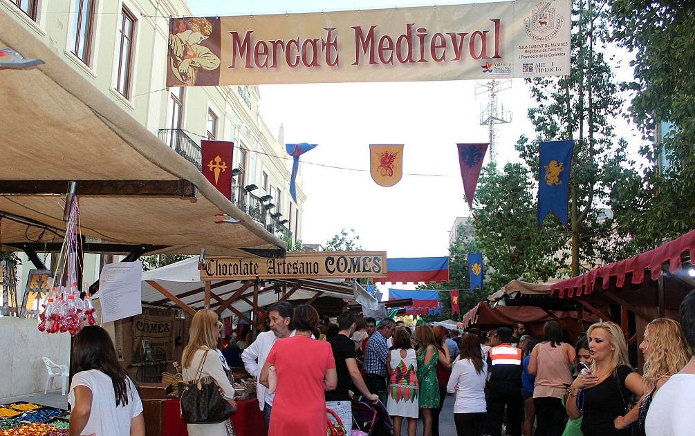 Mercados medievales y ferias de artesanía en la Comunidad Valenciana en octubre de 2018