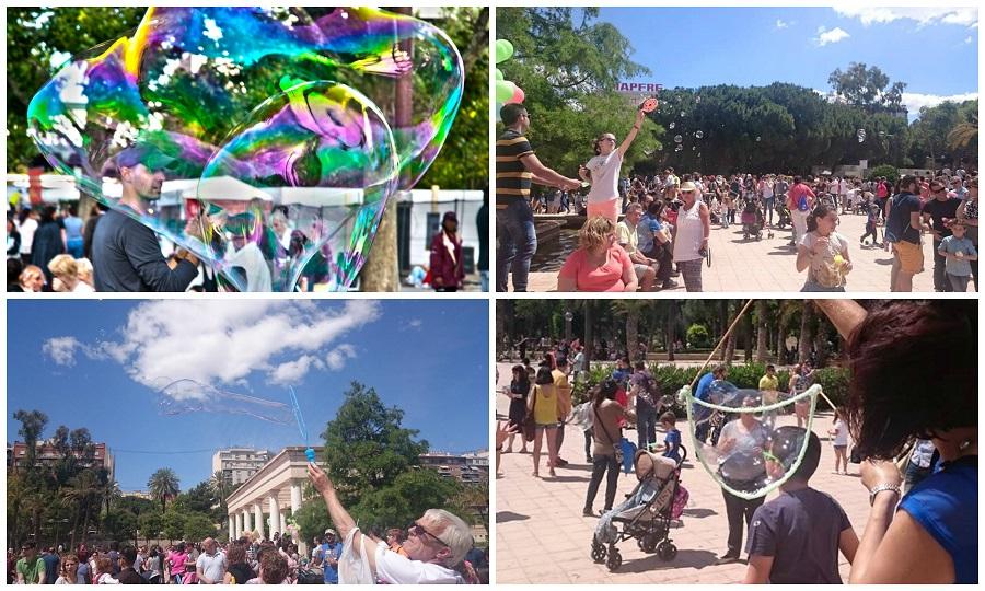 La gran fiesta mundial de las pompas de jabón llega a Valencia el domingo 28 de mayo