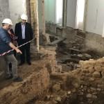 Descubren el mayor muro romano de Valencia, casas islámicas y un trazado de la calle Micalet
