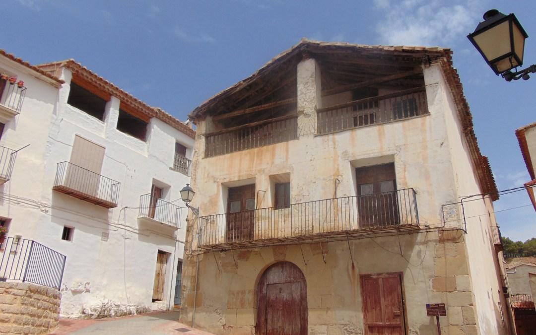 La Casa del Tío Florencio, un bello edificio del siglo XVIII de Titaguas, será rehabilitada