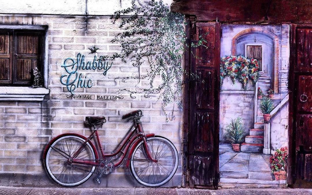 La pintura mural del carrer de la Tapineria, uno de los lugares más fotografiados de Valencia