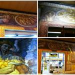 Así es el mural de arte urbano de Valencia inspirado en la Sala Paulina del Castillo de Sant'Angelo