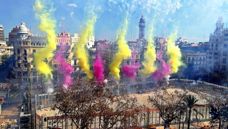 Revive todas las mascletaes y castillos de fuegos artificiales de las Fallas 2018
