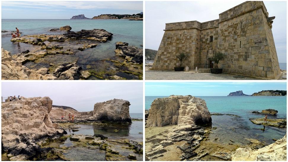 Moraira y su preciosa playa deL'Ampolla