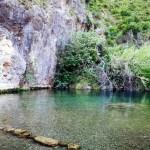 La Peña María de Gestalgar, una preciosa zona de baño del río Turia a los pies de La Peña María