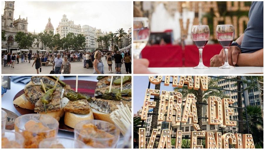 Mostra de Vins d´estiu 2018, del 12 al 15 de julio en la plaza del Ayuntamiento de Valencia