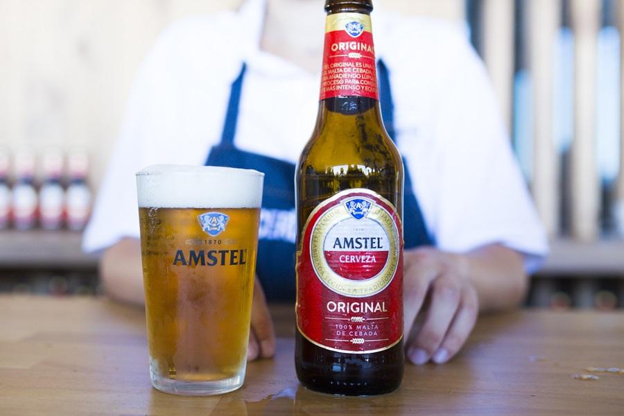 Amstel Original, la nueva receta cervecera elaborada en Valencia
