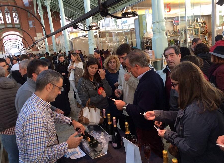 El Mercado de Colón acoge una nueva edición de la Feria del Cava Valenciano
