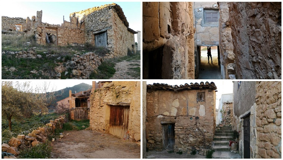 Mas del Olmo, Sesga y Val de la Sabina, las tres bonitas aldeas de Ademuz