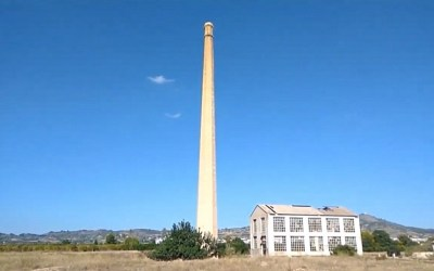 ¿Sabías que la chimenea industrial más alta de la Comunitat Valenciana está en Xàtiva?